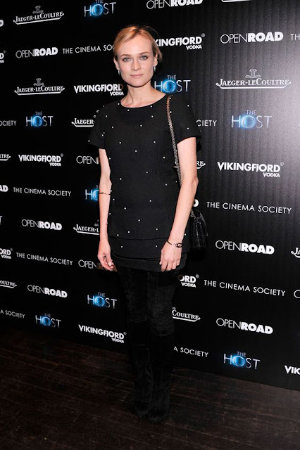 DIANE KRUGER İN CHANEL( FALL 2013 RTW) – 'THE HOST' NEW YORK SCREENING