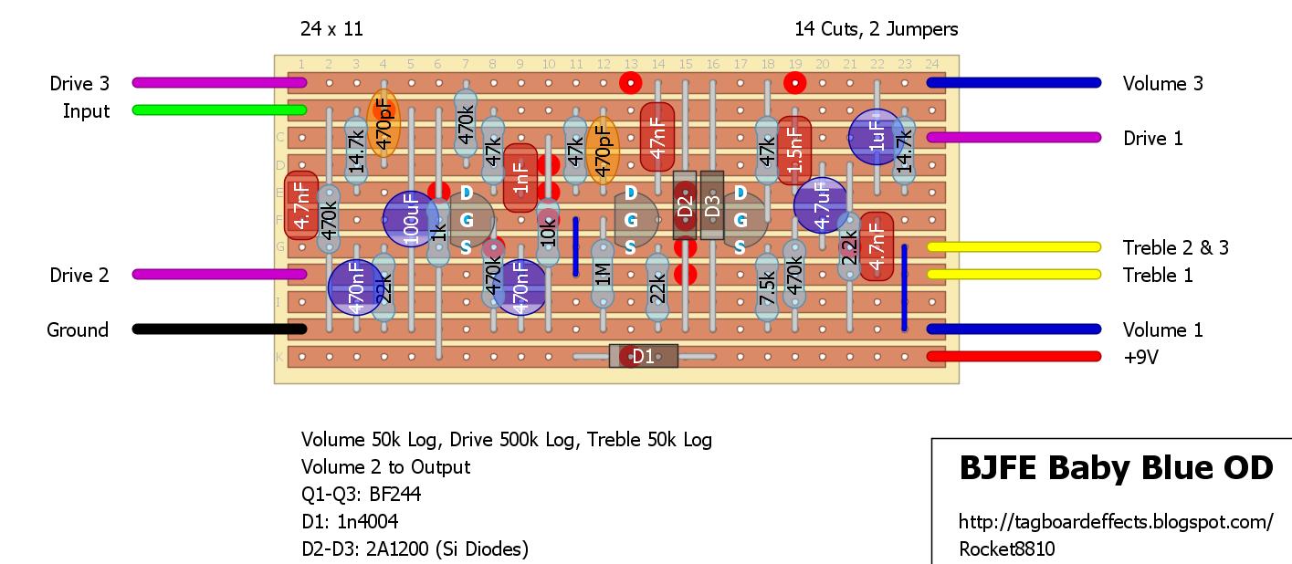 Guitar Fx Layouts 2017 Rf Modulator Layout And Schematic Schematics Pinterest 2n5952 Dsg