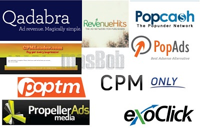 Top 10 CPM Ad Providers with the highest Payment for publishers
