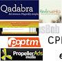 Top 10 Penyedia Iklan CPM dengan Pembayaran Tertinggi untuk penerbit