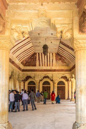 Inside Diwan E Aam