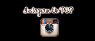 Cara membuka instagram lewat komputer