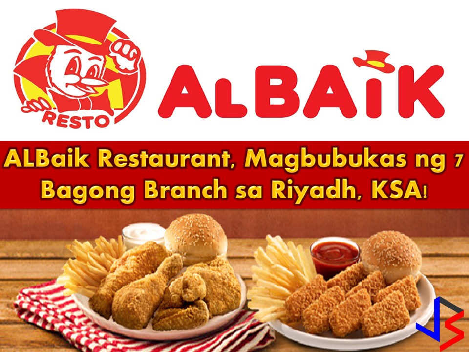 "The ""Best Local Restaurant"" in Saudi Arabia is announcing its plan expansion through opening seven new branches in Riyadh.  This is after the AlBaik Food System Company signed a strategic partnership agreement with Peace Stars Holding Company.  The agreement includes the acquisition of land that will be used for the new outlets."