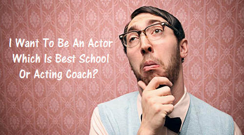 Pros and Cons of learning acting from a school