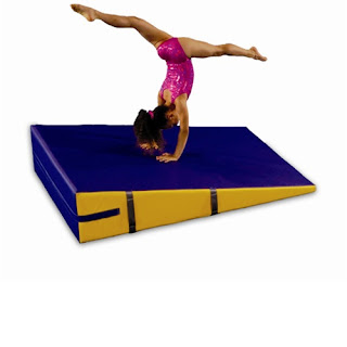 Greatmats cheese incline wedge mats for gymnastics