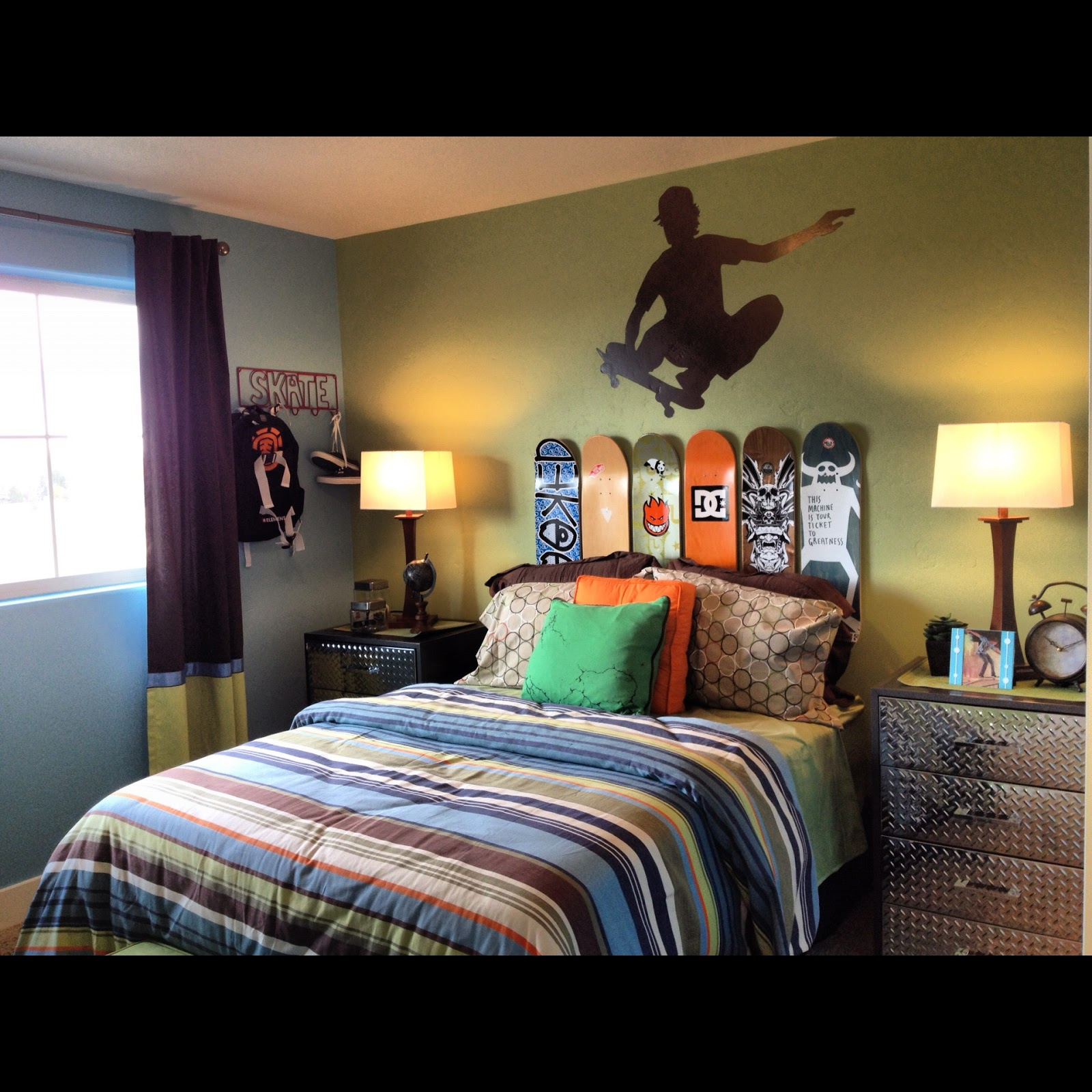 Boys Bedroom Decor: The Habitual Designer: Re-vamp Your Kids Camp For