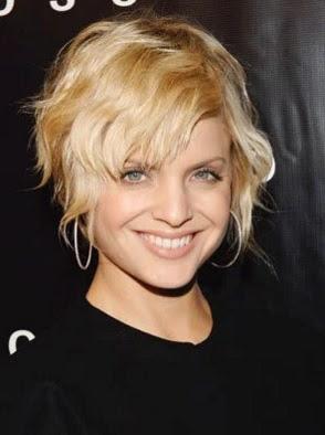 model gaya rambut pendek berantakan 2008