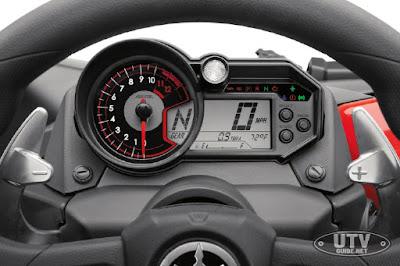 Yamaha YXZ1000R SS Dash