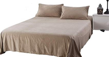 Flat and Fitted Sheet