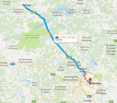 Route der Friedensfahrt 2016