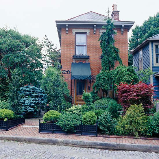 Front Garden Bushes: 365 Tips To Improve Your Home: # 96 This Fall Create Curb