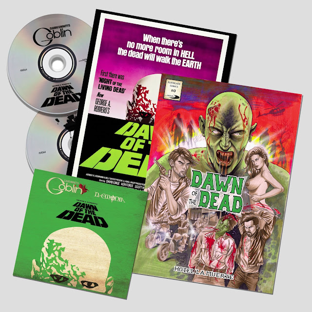 Dawn Of The Dead – Double Cd + Comic Book + Poster