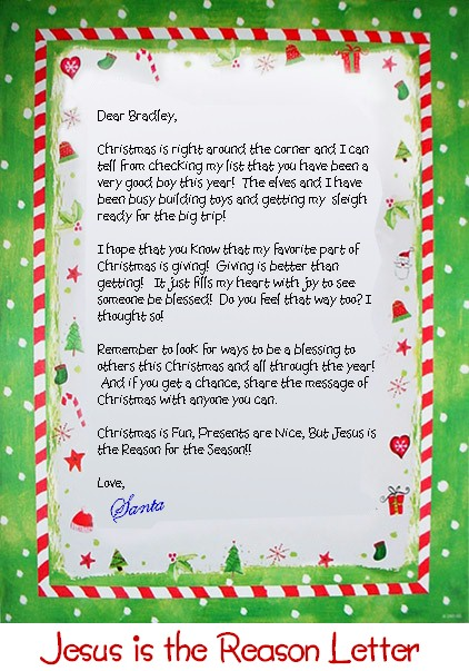 how to write a thank you letter to santa claus