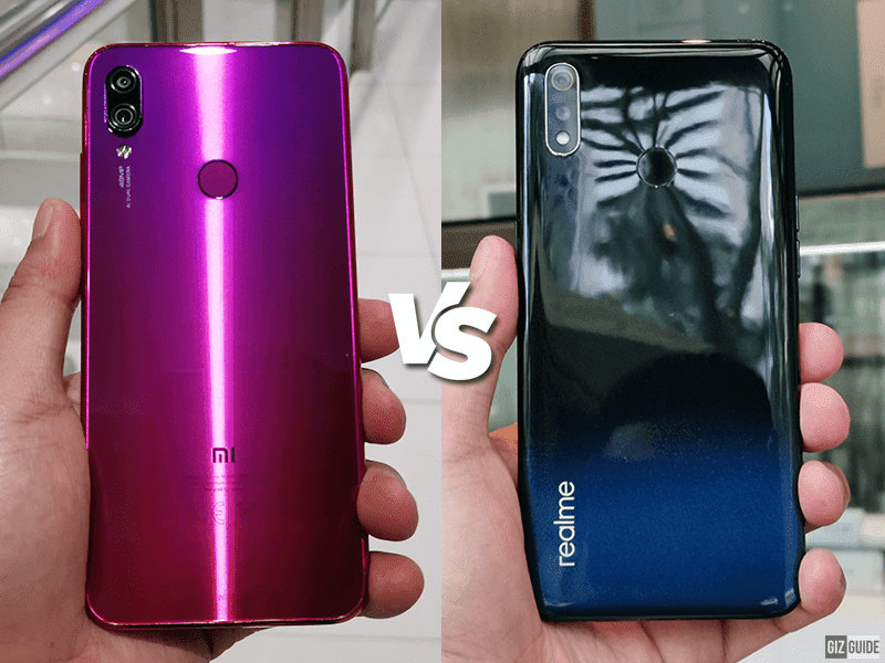 Redmi Note 7 vs realme 3 Specs Comparison
