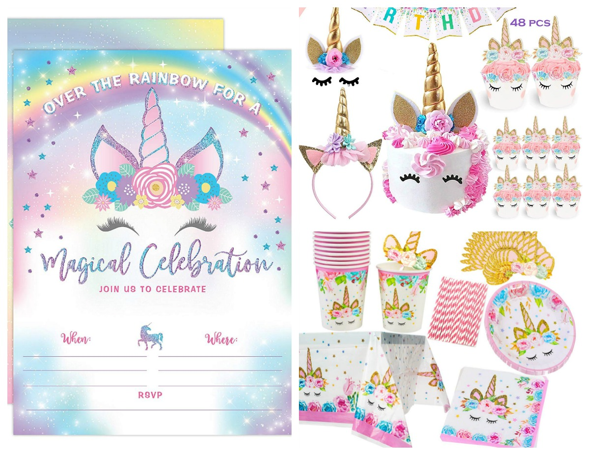 Frugal Foodie Mama: Magical Essentials for a Unicorn Themed Party