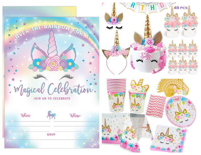 Planning a unicorn themed birthday party soon? Here are all the magical essentials you will need for throwing an unforgettable unicorn themed party.