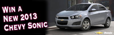 Win a new 2013 Chevy Sonic
