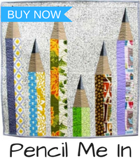 pencil me in mini quilt pattern