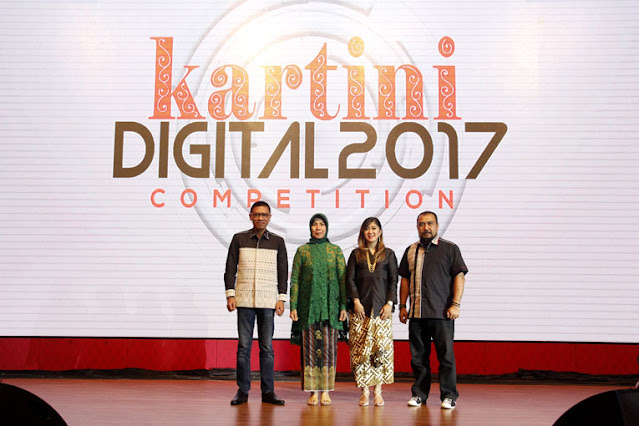 malam grand final kartini digital di medan