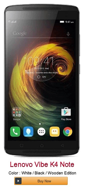 Lenovo Vibe K4 Note - Review