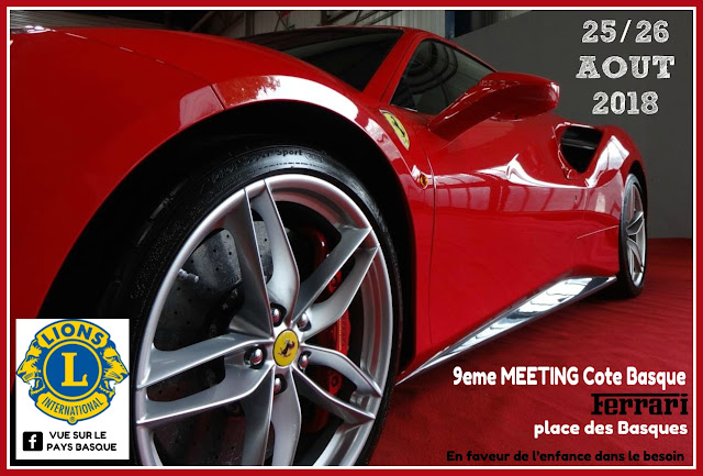 Meeting Ferrari Bayonne 2018 Pays Basque