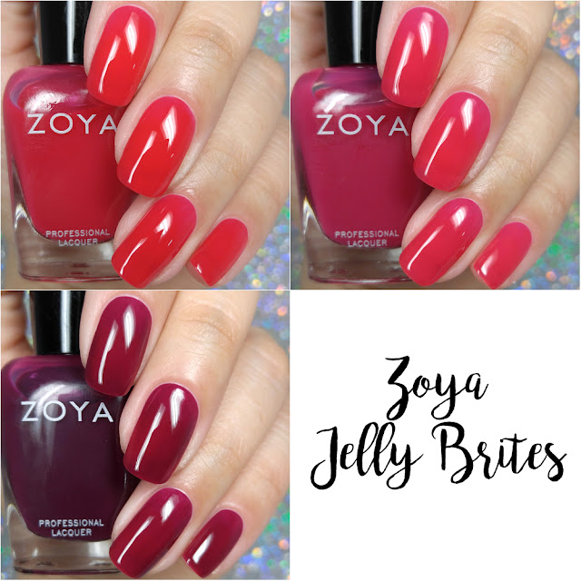 Zoya Jelly Brites 2018 Swatches
