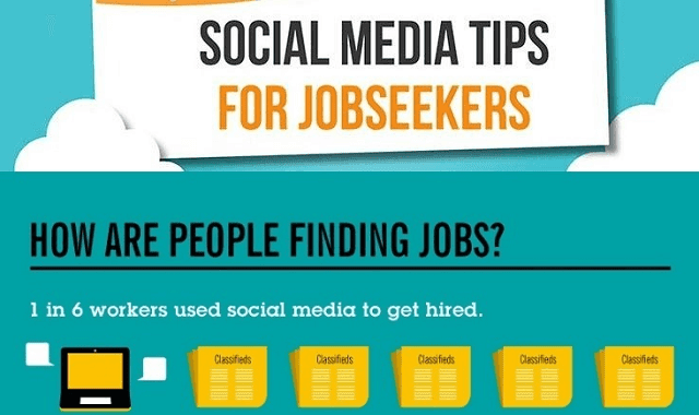 Social media tips for jobseekers