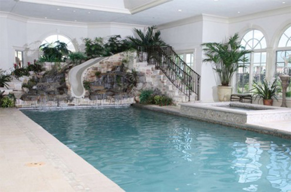 Indoor Swimming Pool, David Hallam, Home Inspiration, Swimming Pool