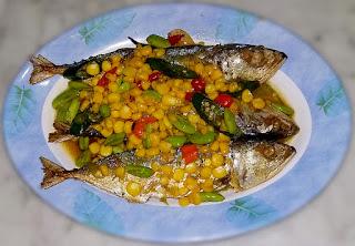 Tumis Ikan Peda Jagung Manis