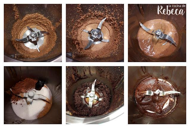 Receta de crema de chocolate y avellanas 02