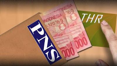Kenaikan Tunjangan Hari Raya PNS Tahun 2018