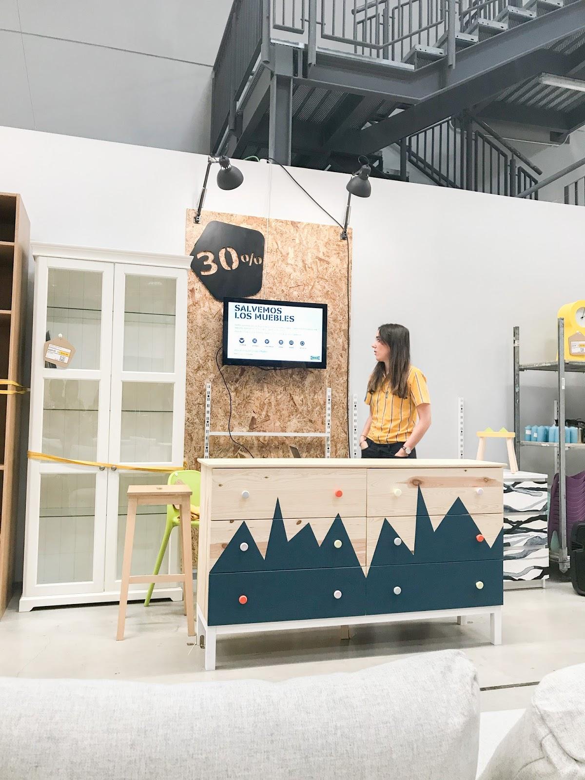Salvemos Los Muebles Nuevo Proyecto De Ikea Sofia Parapluie # Muebles New Place