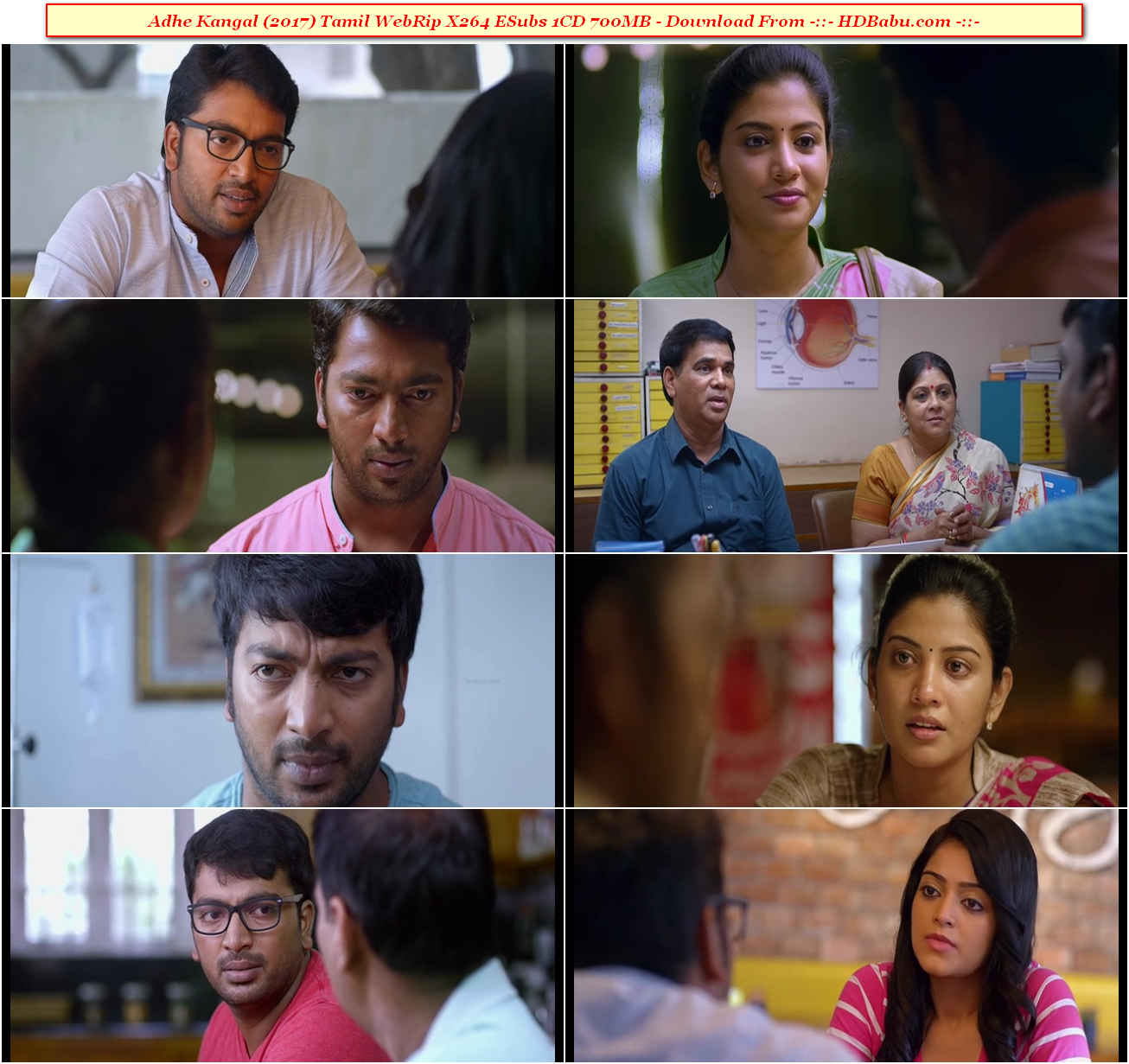 Adhe Kangal Full Movie Download