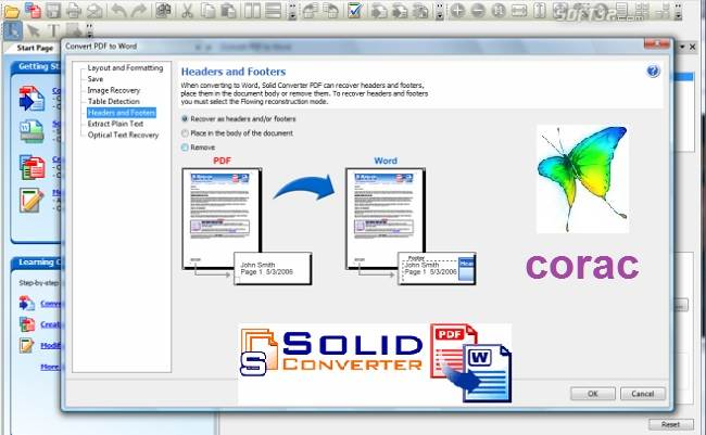 Solid converter PDF to Word
