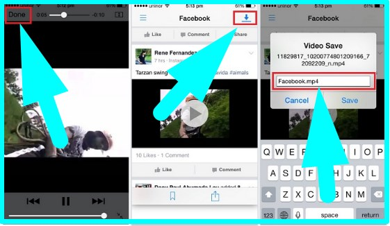 download facebook videos iphone tweak