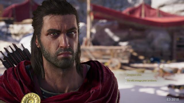 تسريب عدد رهيب من الصور للعبة Assassin's Creed Odyssey و طريقة اللعب تم الشخصية الرئيسية في الموعد …
