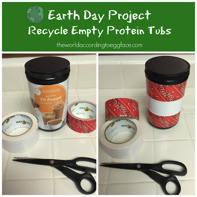 Earth%2BDay%2BProject%2BRecycle%2BEmpty%2BProtein%2BTubs%2BEggface Weight Loss Recipes Celebrate Earth Day   Recycle Projects WLS Style