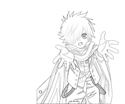 anime chibi boy coloring pages - photo#9