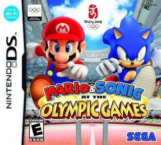 Mario y Sonic en los Juegos Olimpicos, NDS, Español, Mega, Mediafire