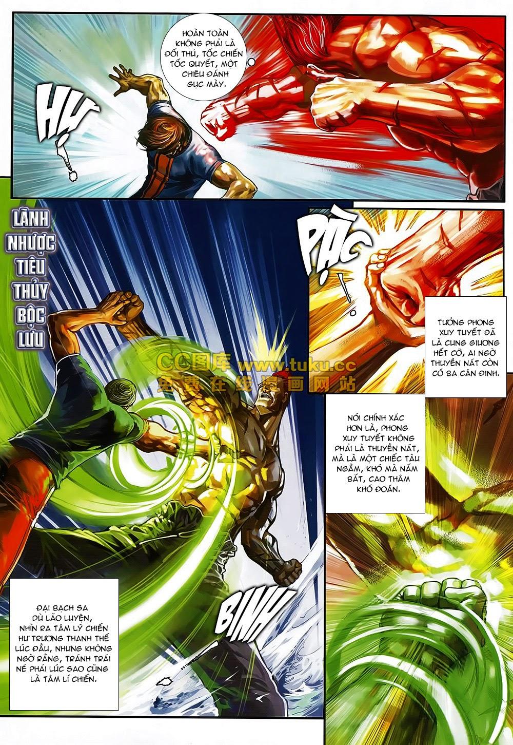 Quyền Đạo chapter 6 trang 9