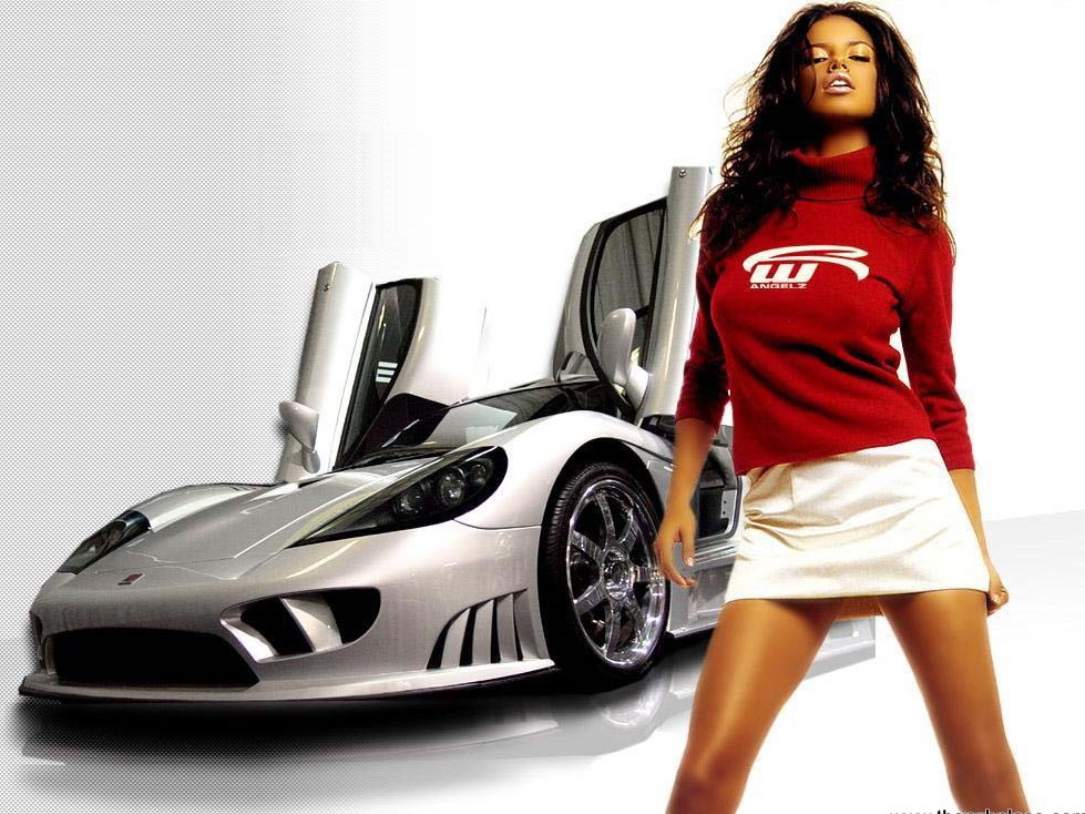 supercars girl hot 2