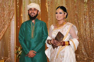 Nusrat Imrose Tisha Marriage Photo With Mostofa Sarwar Farooki
