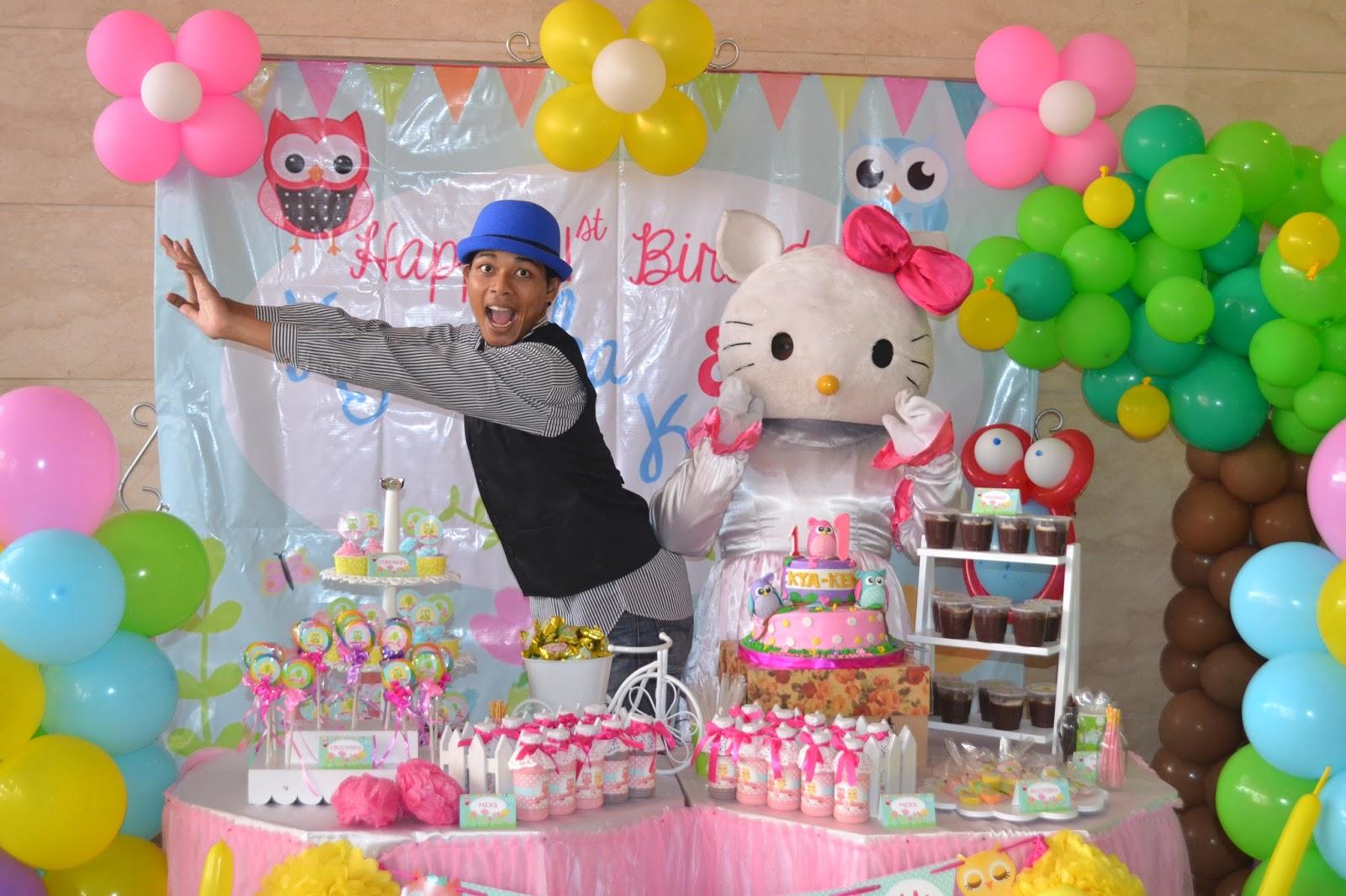 Bahagianya Ulang Tahun di Bintaro Entertainment center