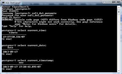 Kelas Informatika - Query Waktu PostgreSQL