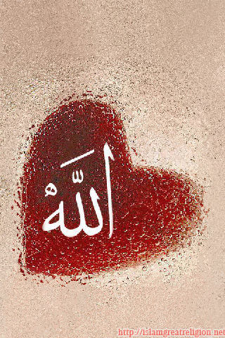 Free Iphone Islamic Wallpapers Allah In My Heart