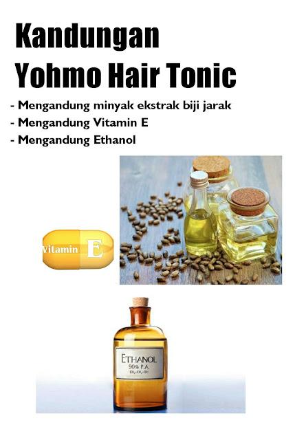 kandungan yohmo tonic