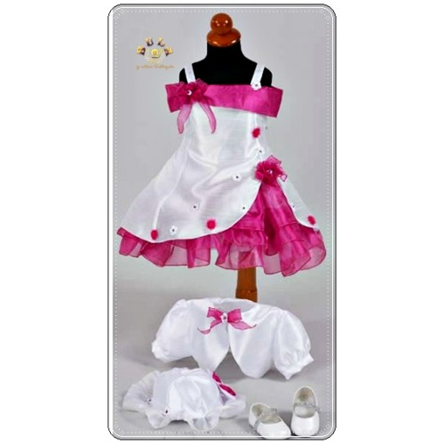 βαπτιστικά φορέματα ροζ αποχρώσεις