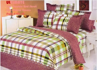 Buy Ultimate Floral Checkered Double Bedsheet With 2 Pillow Covers worth Rs.699 for Rs.322 Only