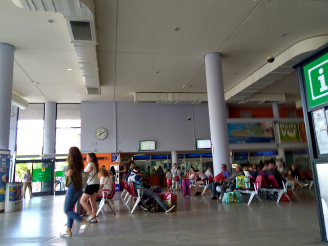 Sala de espera estación