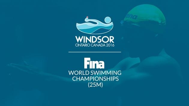 NATACIÓN - Mundial en piscina corta masculino 2016 (Windsor, Canadá)